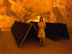 Touring the Caves of Taittinger